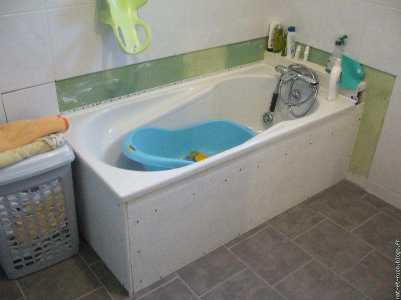 Entourage baignoire free entourage baignoire st gengoux for Carreler une salle de bain avec baignoire